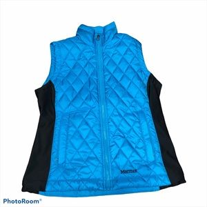 Marmot Vest Full Zip Insulated Quilted Jacket